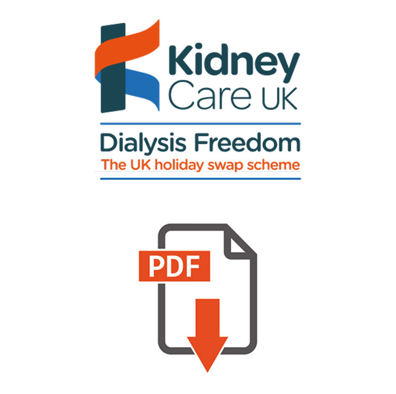 UK list of units that offer holiday dialysis